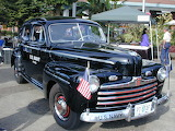 1946 Ford Navy Staff Car Vehicle Automobile
