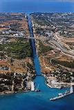 CANAL CORINTH GREECE