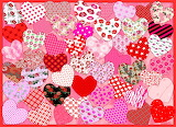Fifty Hearts Collage