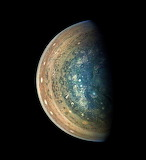 Jupiter's South Pole, Gerald Eichstädt processed this image usi