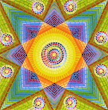 flowing colours