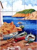Barques a la platja, s.XVII