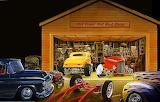 Old timer hot rod shop - Bruce Kaiser