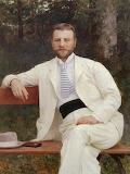 Vlaho Bukovac, Portrait of Gustav Pongratz, 1893