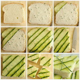 ^ Cucumber Tea Sandwich Deconstructed