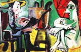 Pablo Picasso: El pintor y la modelo (1963)