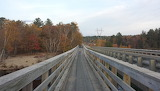 Mile 2178 Abol Bridge The Wilderness is Over