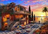 Mediterranean Villa - Dominic Davison