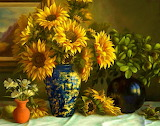#Sunflower Still Life