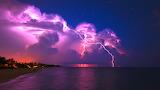 Lightning-from-a-purple-cloud