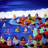 ^ Colorful Sail ~ Renie Britenbucher