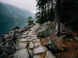 Path along Morskie Oko