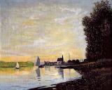 Claude Monet, Copie Argenteuil, fin d'après midi