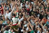 Siena - Contrada dell'Oca in festa vince il Palio 2011 (luglio)
