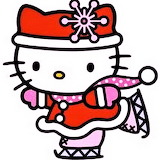 Hello Kitty Ice-Skating