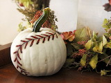 ^ Baseball pumpkin