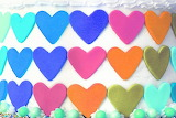 Sugar hearts @ Rebecca Cakes & Bakes