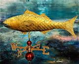 #Folk Art Fish Weathervane