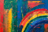 Abstract rainbow