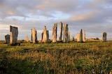 Callanish standing stones at dawn Isle of Lewis Scotland