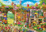 Garden Gate by Aimee Stewart