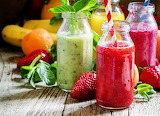 Jugo de frutas natural
