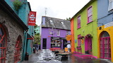 In Kinsale on the rainy day