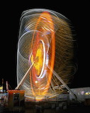 "Art tumblr lustik ""Long Exposure Photos of Carnival Rides"" ""Roge"