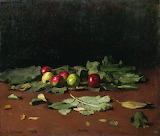 Рєпін І.Ю. Яблука і листя