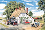Delivery at the Railway Inn - Trevor Mitchell