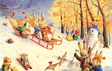 Sledging~ Racey Helps