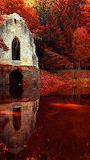 #Reflective Church Ruins- Pinterest