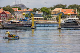 LB. Smith Bridge, Willemstad Curaçao by Gerald Schuring