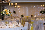 Set up for a wedding reception 1