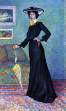 Maximilien Luce, Portrait de Lucie Cousturier, 1903