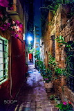 Chania old town street