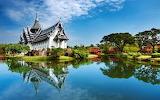 thailand sunny lake house
