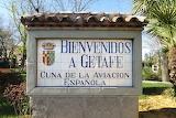 Getafe, Cuna de la  aviación española