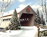 ^ Christmas Snow Scene