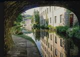 Rochdale Canal, Hebden Bridge. England