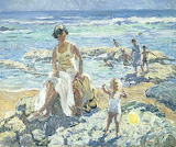 Dorothea Sharp, The yellow balloon, 1938