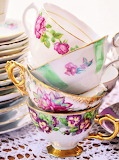 #Stacked Teacups