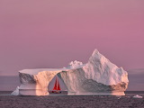 A Sailboat in Greenland