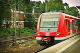 red train,Germany