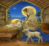 Jesus-baby-Mary-lamb-religion