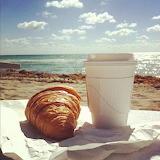 perfect beach morning