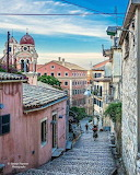Old Town of Corfu Island