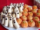 Halloween fruit