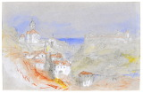 A View of Old Bregenz, Austria by Joseph Mallord William Turner
