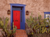 ^ Bright doorway, Tucson, Arizona